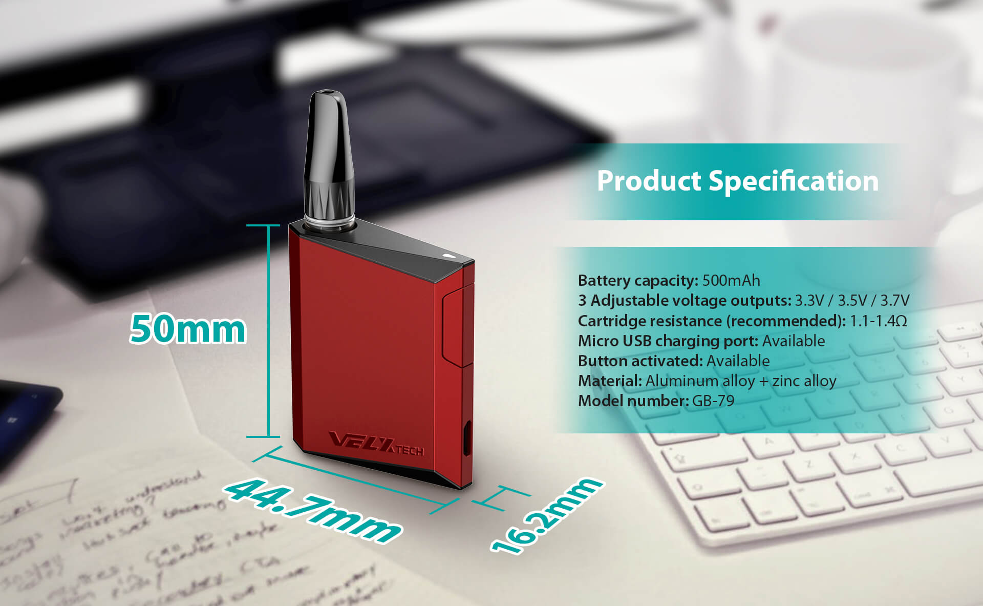 product specification (2)